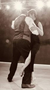 Pedro & Catherine gancho cours de Tango à Carouge